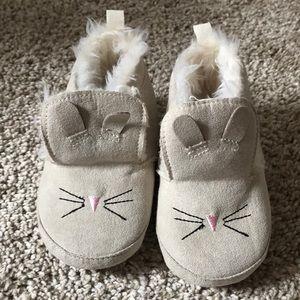 Baby Gap Bunny Slip Ons